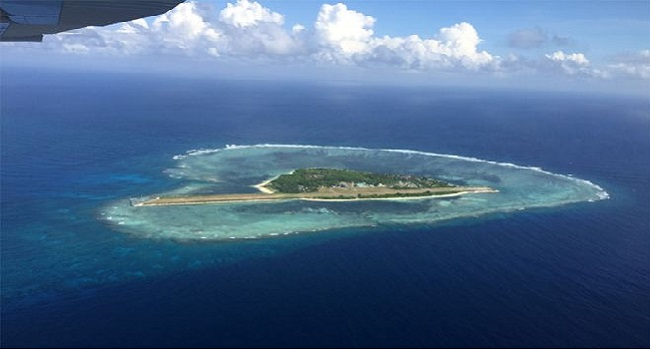 South China Sea: Filipino Protesters Land On Disputed Island