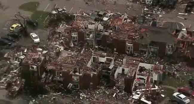 Texas Tornadoes Kill 11 In Dallas Area
