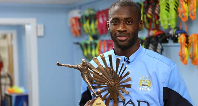 Yaya Toure Wins BBC African Footballer Of The Year