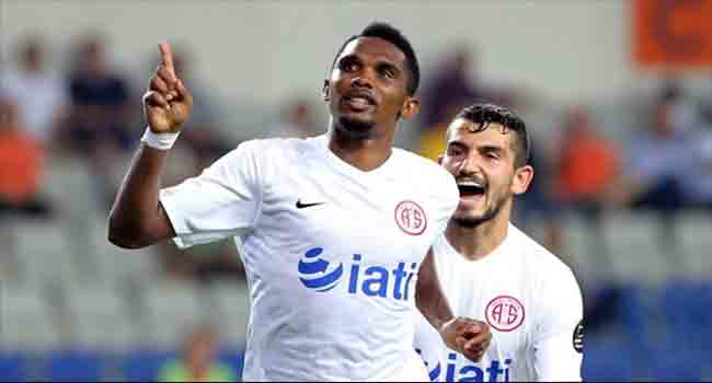 Antalyaspor Drops Eto'o From Squad
