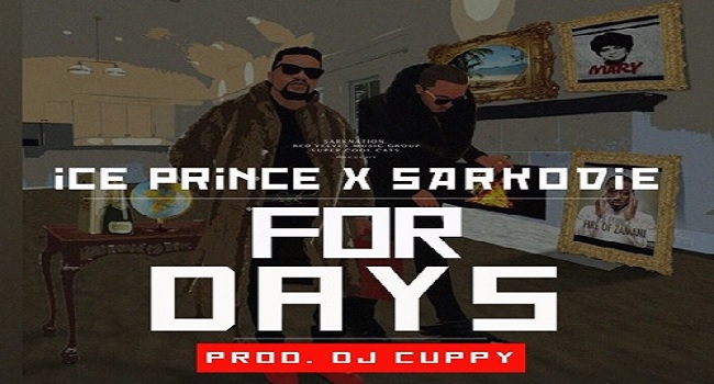 Ice Prince Drops 'For Days' Featuring Sarkodie