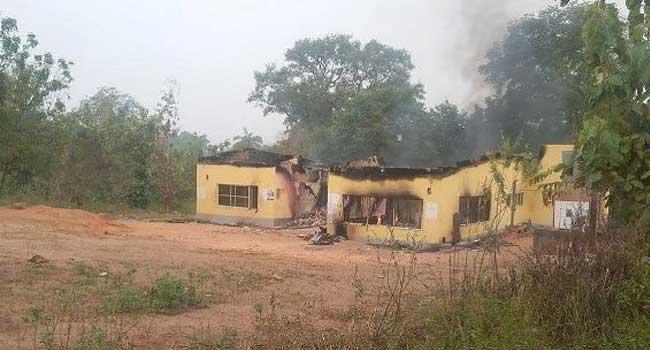 INEC Office Burnt In Kogi