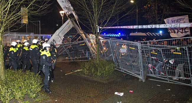 Dutch Town Riots Over Asylum Centre Plan