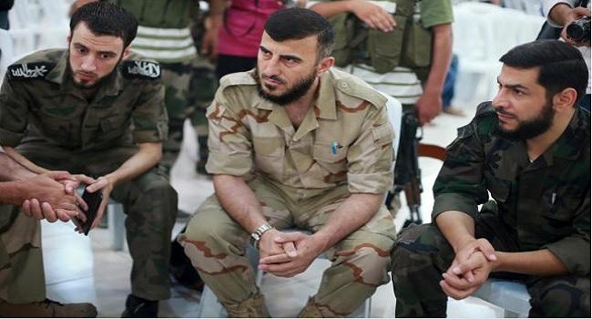 Syrian Rebel Chief's Death Complicates Peace Talks Push