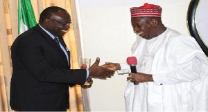 Abdullahi Ganduje and Babtunde Adeniran