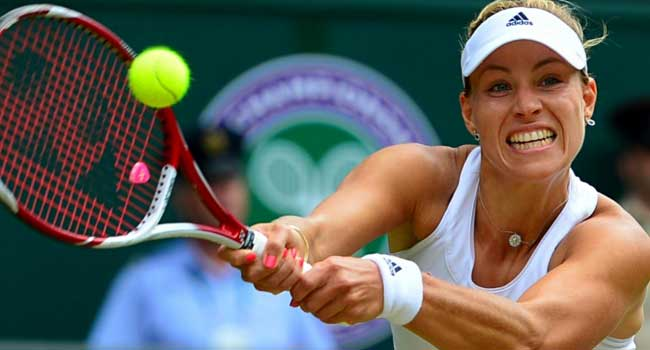 Top Seed Angelique Kerber Crashes Out Of Wimbledon