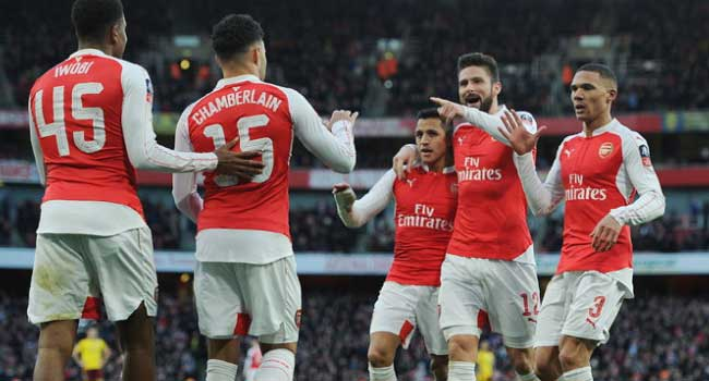 FA Cup: Arsenal, Spurs, Man City Through To 5th Round