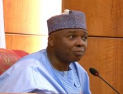 BREAKING: Saraki Addresses World Press Conference