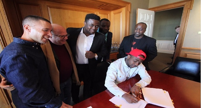 Davido Signs Record Deal With Sony BMG