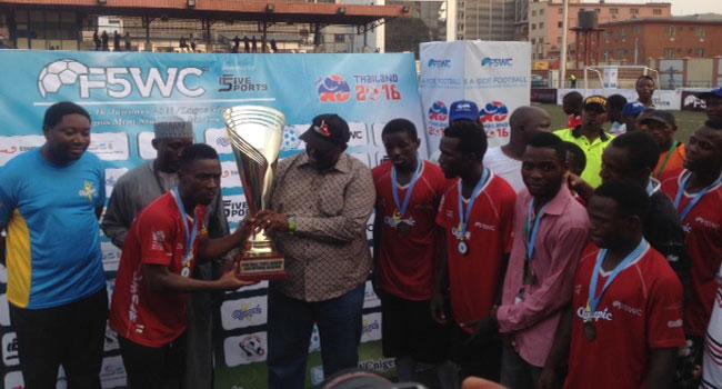 De-Royals FC To Represent Nigeria at World Five-A-Side Championship