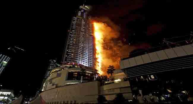 Dubai Investigates Skyscraper Fire