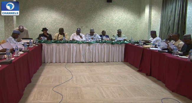 Governors' Forum Sets Up Committee On State Policing