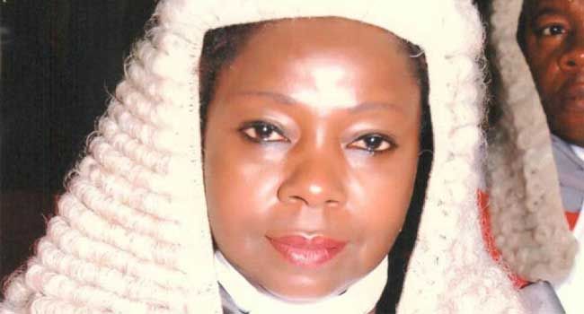 Gov. Wike Confirms Daisy Okocha Rivers CJ
