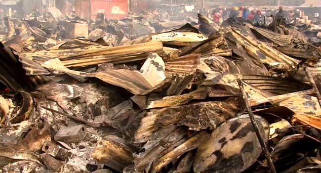 Fire Wreaks Havoc At Ebute Metta Sawmill