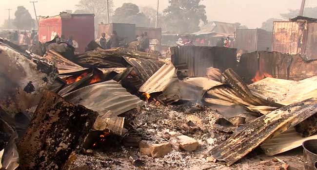 Kaduna Government To Relocate Burnt Food Market