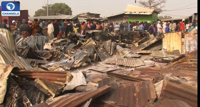 Millions of Naira Lost In Sawmill Inferno
