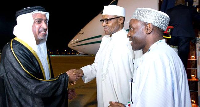 Buhari In UAE To Attend World Future Energy Summit