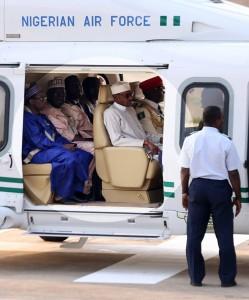 Muhammadu-Buhari-leaves-for-UAE-meeting