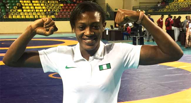 Odunayo Continues Fine Form at Pro Wrestling League