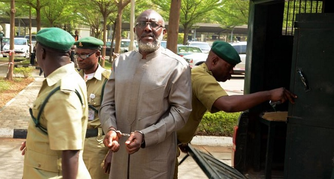 Olisa Metuh Arraigned Again