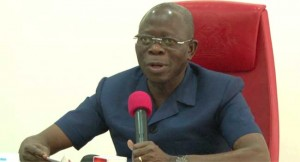 Oshiomhole on power supply in Edo State