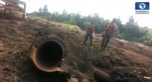 Pipeline-vandalism