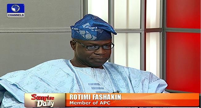 Nigeria Is Using Desperate Tactics To Fight Corruption – Fashakin