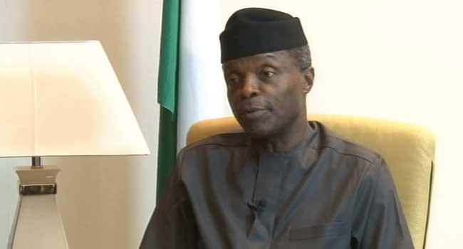Vice President Osinbajo Explains FG's Economic Plan