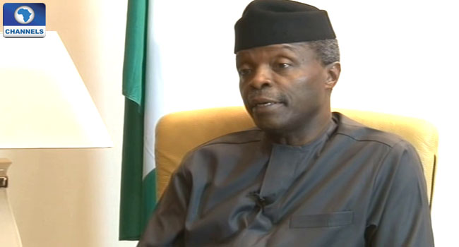 Osinbajo Clears Misconceptions About Promised 5,000 Naira Stipend
