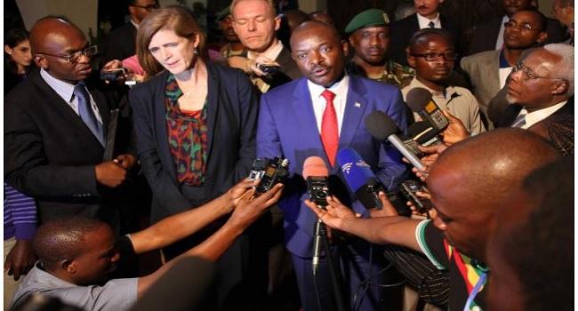 U.S. Urges African Leaders To Sway Burundi On Peacekeepers