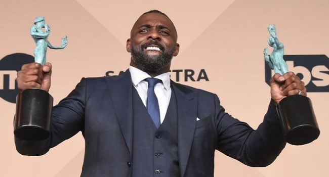 Idris Elba Wins Big At SAG Awards