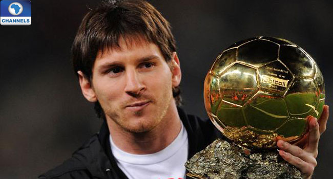 Messi, Ronaldo Others Contend For 2016 Ballon d'Or