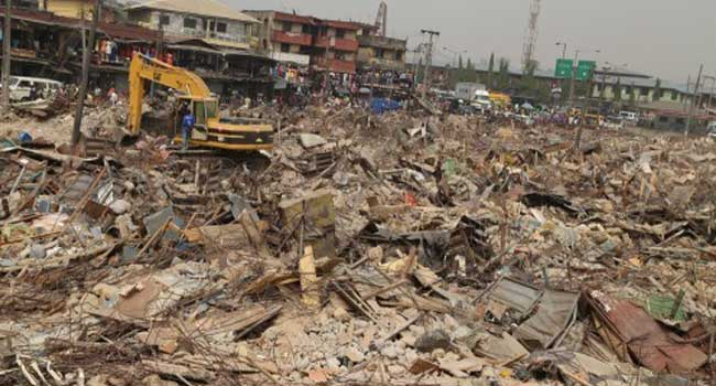 Lagos Defends Action On Oshodi Demolition