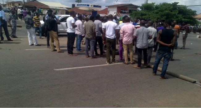 Ogun Students Protest Against 'Outrageous Fees'