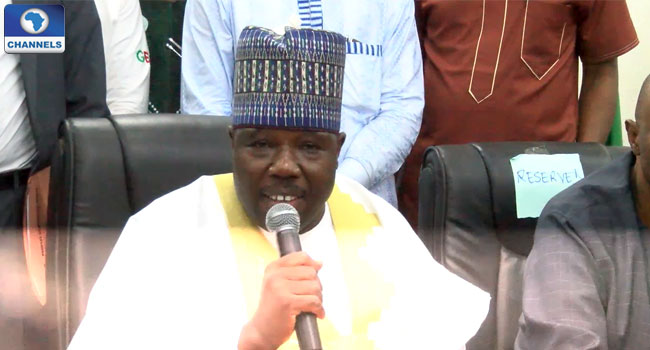 PDP Governors, BoT Support Sheriff's Leadership