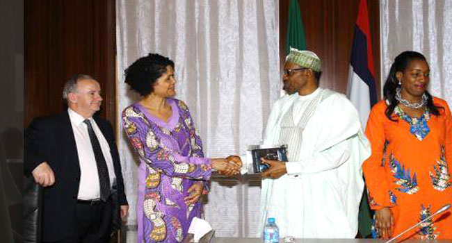 'We Will Rebuild Nigeria,' Buhari Tells British MPs