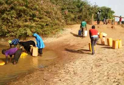 Contaminated Water in Gaidam