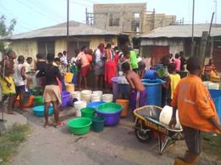 Lack Of Water In Bille Town, Rivers State