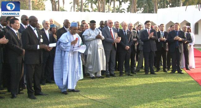 Buhari Assures Diplomats Of A Stable Nigeria