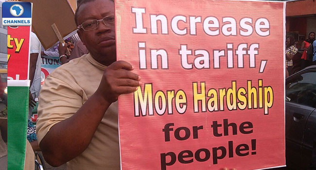 Labour Unions In Nationwide Protest Over Electricity Tariff Hikes