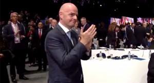 FIFA President, Gianni Infantino