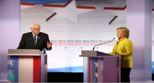 Hillary Clinton and Bernie Sanders on Obama