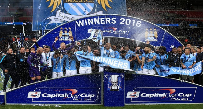 Manchester City Emerge 2016 League Cup Winner
