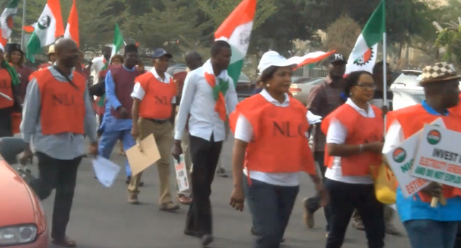 NLC, TUC Protest Verification Policy By Kaduna Govt.