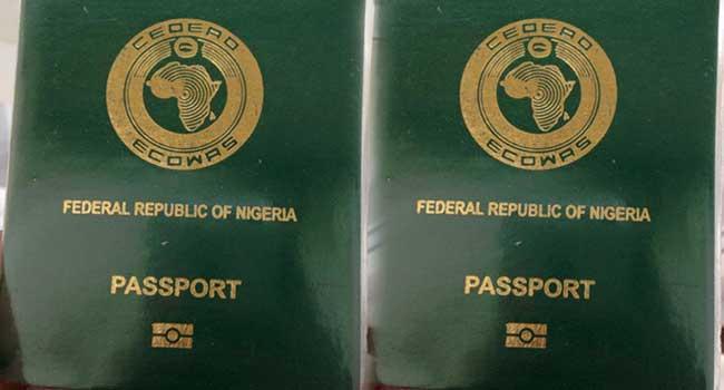Nigerian Passport Ranks 95th In The World