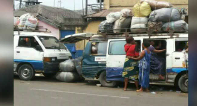 Overloaded Buses In Port Harcourt
