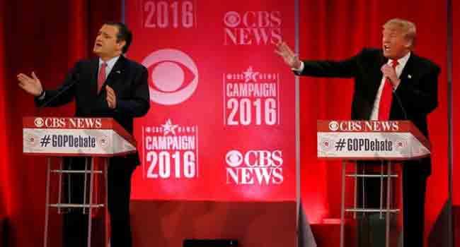 Trump Tangles With Rival In Republican Debate