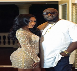 Seyi Sodimu and Kmichelle