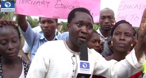 Students-in-Benin-Protest-Closure-Of-JAMB-Registration