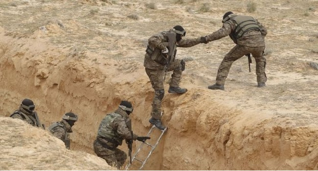 Tunisia Builds Anti-Terror Barrier